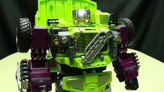 Generation Toy DUMP TRUCK (Long Haul): EmGo's Transformers Reviews N' Stuff
