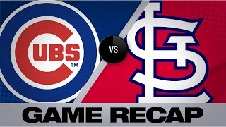 Happ powers Cubs in 8-6 win vs. Cards | Cubs-Cardinals Game Highlights 9/28/19