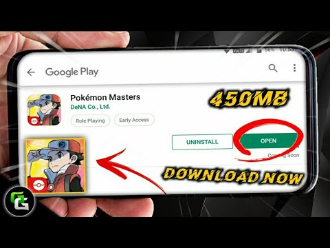 Pokemon Masters-How To Download On Android !!  With Gameplay Proof