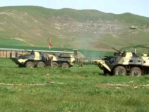 SCO War Games Tajikistan