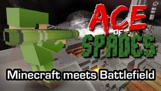 Ace of Spades - Minecraft meets Battlefield (Gameplay 1080p)