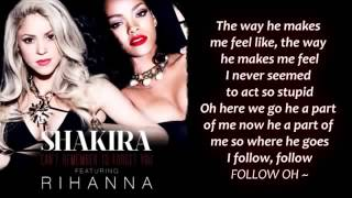 [Free MP3 Download] Shakira - Can't Remember to Forget You ft. Rihanna