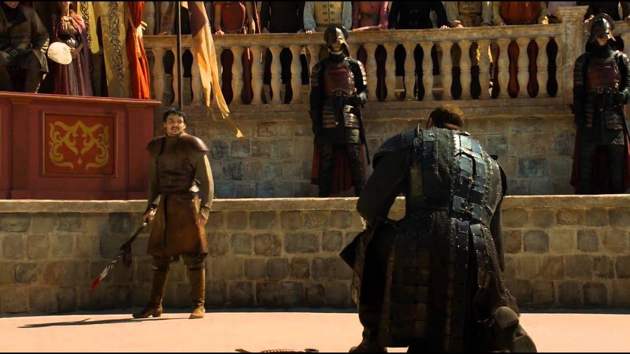 Download Il Trono di Spade 4 - Game of Thrones 4 -- Oberyn Martell vs Gregor Clegane