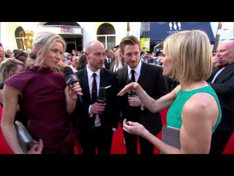 Simone McAullay, Matthew Gravelle & Arthur Darvill  BAFTA Television Awards Red Carpet in 2014