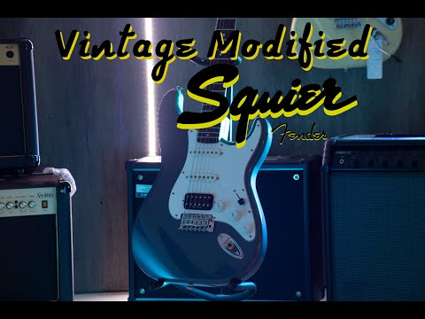 Excellent vintage Squier guitar Modified Demo from YouTube · Duration:  1 minutes 42 seconds