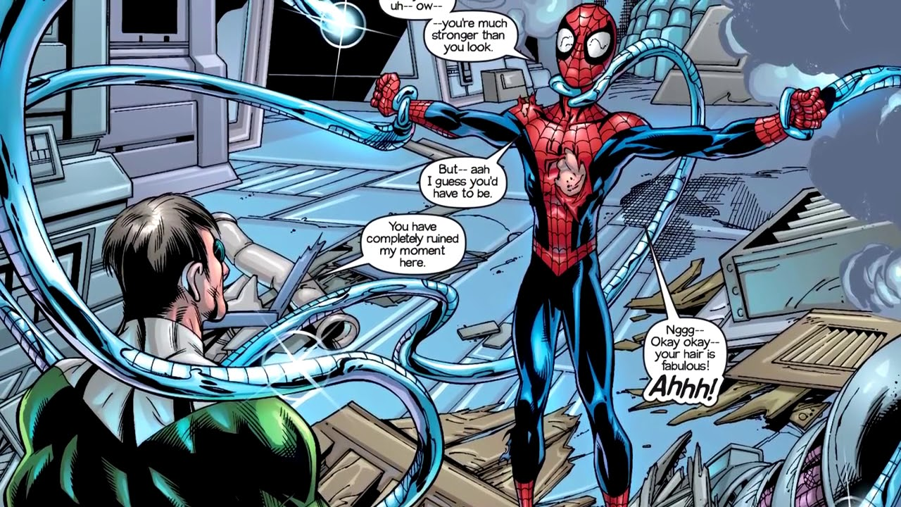 Ultimate Spider Man vs. Doctor Octopus (Preview) | Motion ...