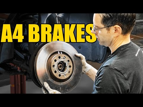 How to Replace Front Brakes on a B7 Audi A4 | DIY