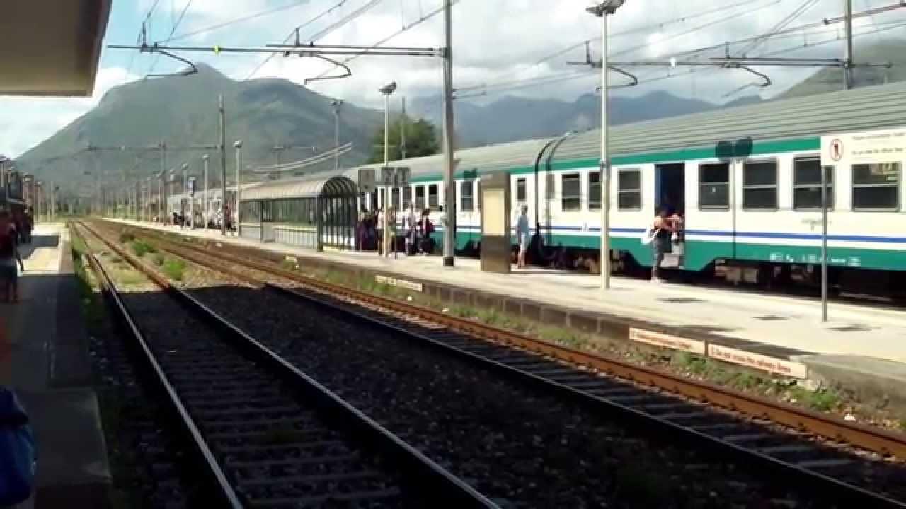 Treno Regionale Napoli - Cosenza - YouTube