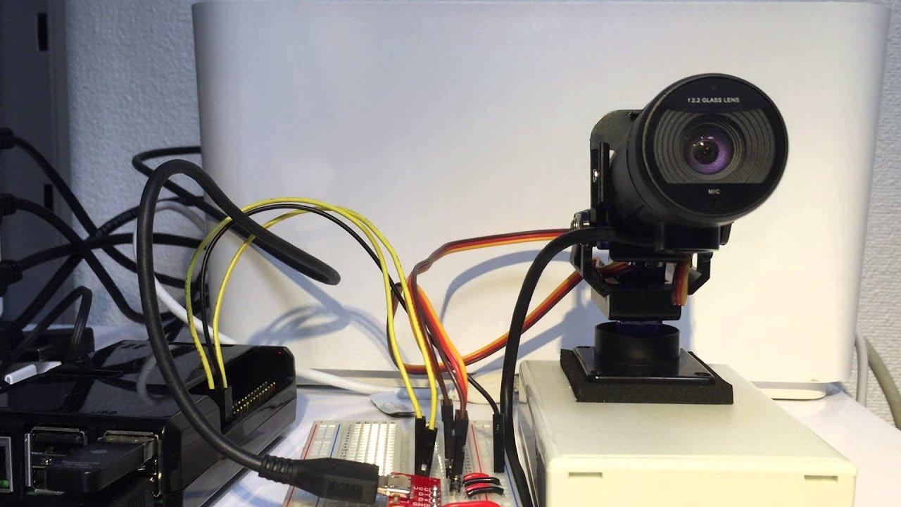 Raspberry Pi Controls Servo Motors Before After Youtube Wiringpi