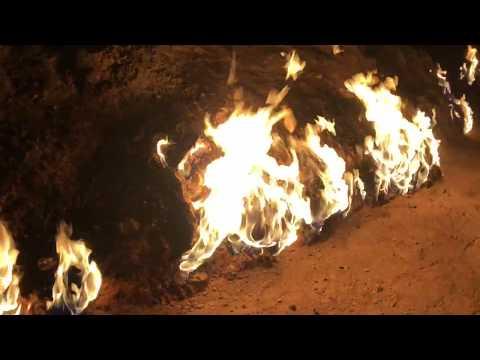 Yanar Dag ...  The Burning Mountain (Baku Azerbaijan)