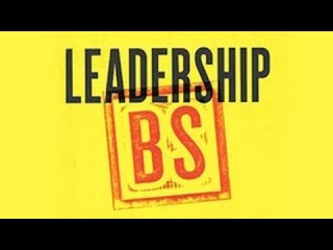 Stanford Webinar Leadership BS: Fixing Workplaces and Careers One Truth at a Time - The Best Documen