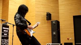 Cry For You - Andy Timmons Cover by Jack Thammarat Live 2014 Laney Asian Clinic Tour,Tianjin China