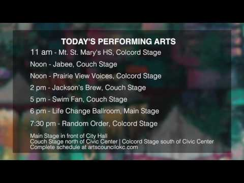 2017 Festival of the Arts: Thursday's schedule