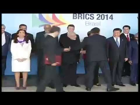 PM Modi with BRICS Leaders and South American Leaders in Brasilia, Brazil