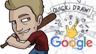 JAZZA vs QUICK DRAW - Artist Battles Against Google AI!