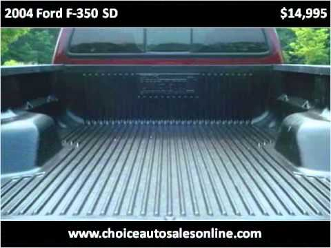 2004 Ford F-350 SD Used Cars Murrysville PA