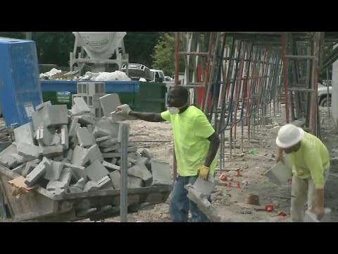Construction worker dies after being struck by lightning