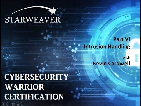 CyberWarrior Certification   Part 6  Intrusion Analysis May 17, 2017
