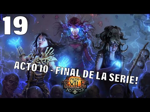 PATH OF EXILE | METAMORPH HARDCORE | ACTO 10 Último boss y final de la serie!!