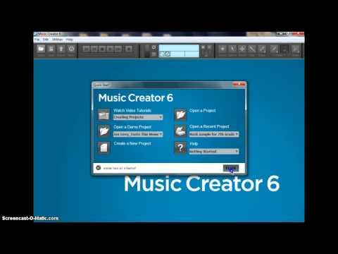 How to setup Music Creator 6