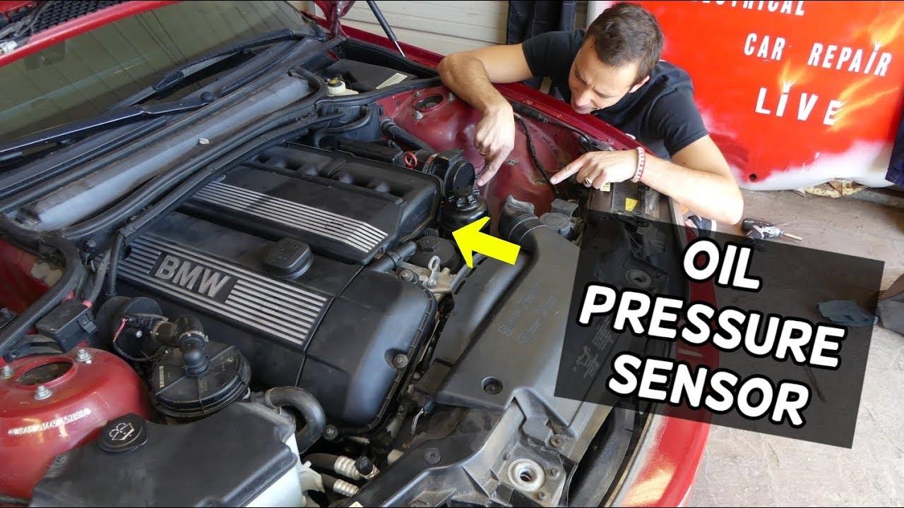 Where Is The Oil Pressure Sensor Switch On Bmw E46 E39 E60