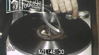 Stock Footage - Commercial- Record Player