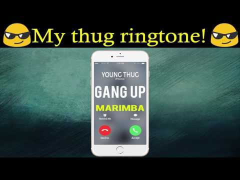 Latest Gang Up iPhone Ringtone - The Fate of the Furious Soundtrack (Marimba Remix Ringtone)