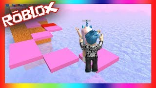 WHO WILL ARRIVE BEFORE? CANDY LAND OBBY #3 ROBLOX DANNYVII