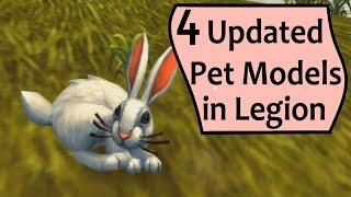 4 Updated Battle Pet Models in Legion