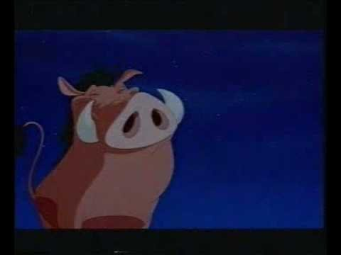 timon et pumba stand by me poster
