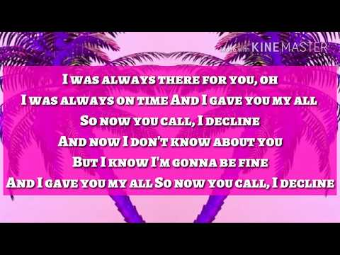 RAYE, MR EAZI - DECLINE (LYRICS)