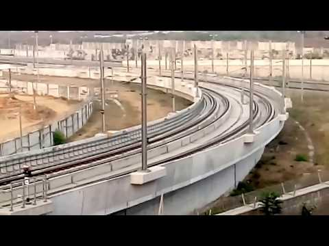 Miyapur Metro Depot-Latest Developments as on 24.12.2017-Hyderabad-India