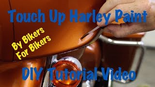 Harley Davidson Paint Touch Up Kit for Scratches & Chips | DIY Fix It Tutorial