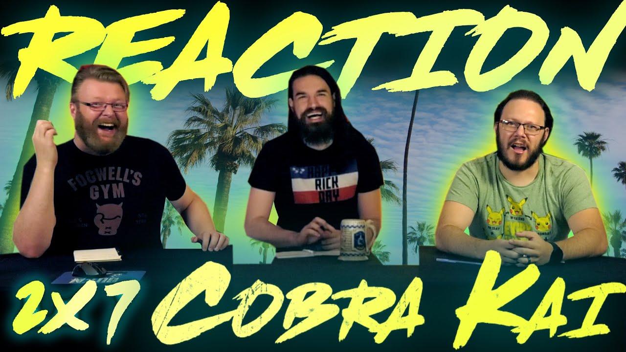 """Download Cobra Kai 2x7 REACTION!! """"Lull"""""""