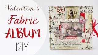 Album in Stoffa facile -  DIY Fabric Album easy