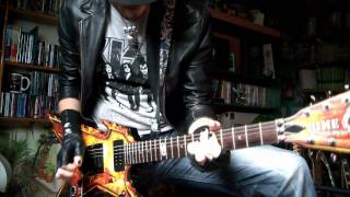 Balls to the wall guitar cover - Accept (HD)