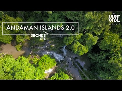 Andaman Islands 2.0 | Drones Eye | TheVibe Visuals