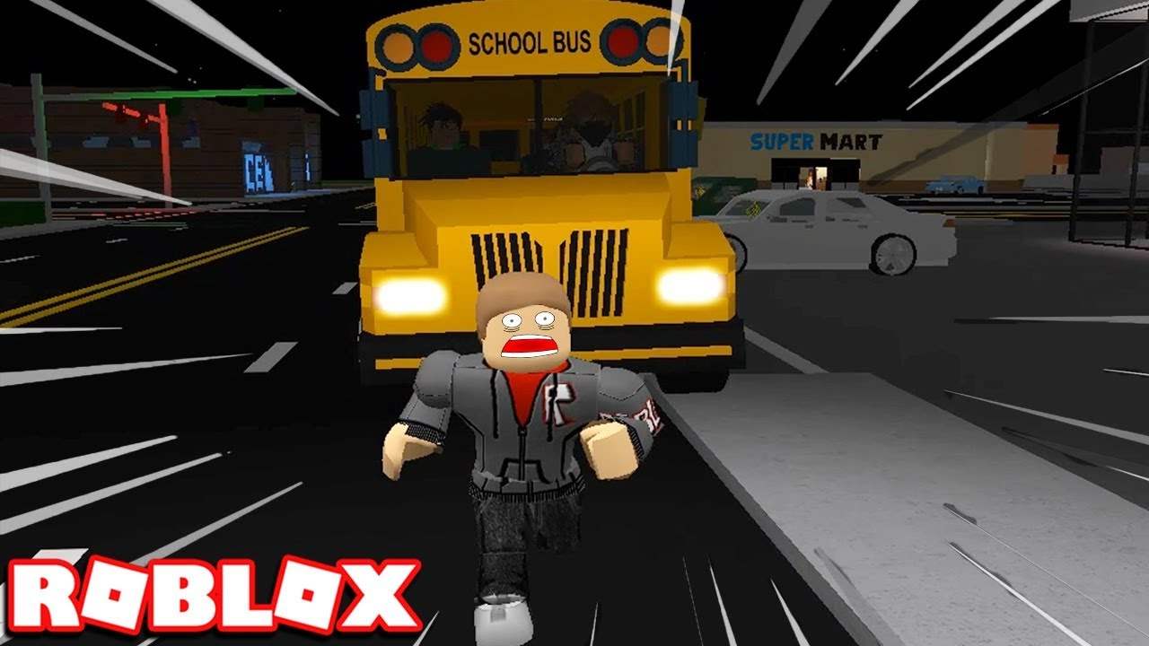GOING TO SCHOOL IN ROBLOX ROCITIZENS (SCHOOL BUS JOB) *NEW UPDATE*