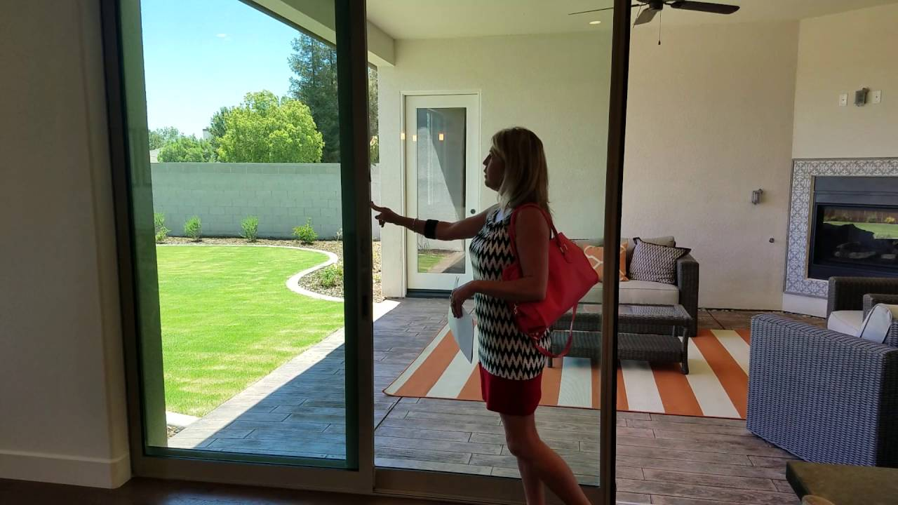 Patio Doors Disear Into Wall