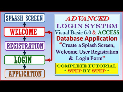 Computer Gyan: Advanced Login System using Visual Basic 6 0 and MS