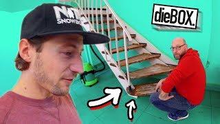 Wir haben die Treppe in der BOX zerstört! 😱