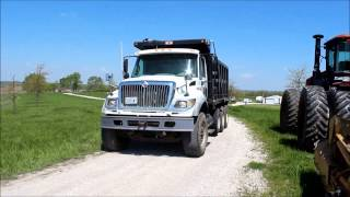 2007 International 7600 dump truck for sale | sold at auction May 28, 2015