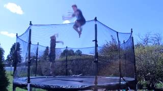 Triple Backflip Without Double Bounce!