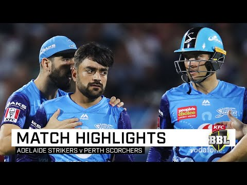 Strikers Survive Opening Blitz To Defeat Scorchers | KFC BBL|09