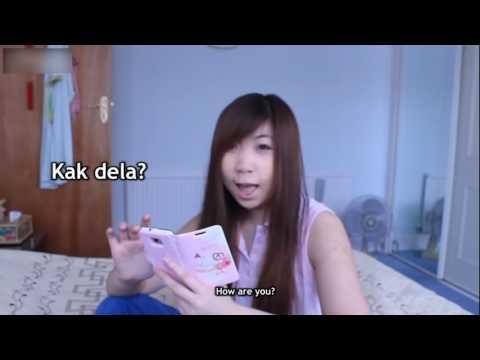 Видео прикол: Котяра показывает язык на камеру