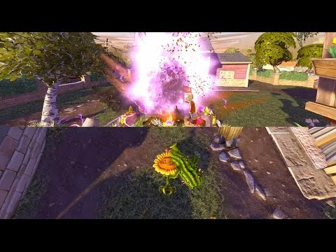 Plants Vs Zombies Garden Warfare Split Screen All Maps Xbox One Youtube