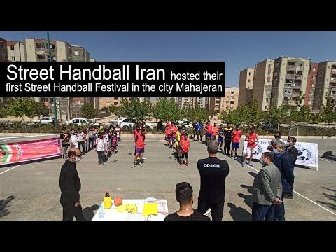 Street Handball Iran hosted their first Street Handball Festival