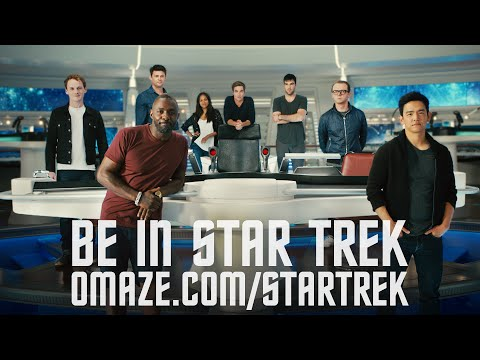 The Cast of Star Trek Beyond Offers YOU a Role in the Film // Omaze