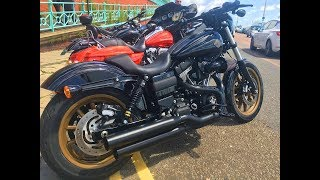 Harley Dyna Lowrider S Ride Out & Euro Trip Prep