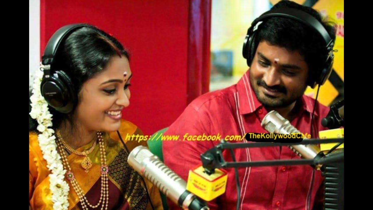 senthil sreeja talks on their marriage at radio mirchi